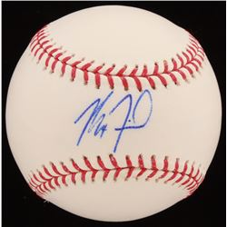 Max Fried Signed OML Baseball (JSA COA)