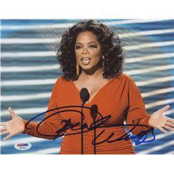 Oprah Winfrey Signed 8x10 Photo (PSA Hologram)