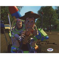 "Tom Hanks  Tim Allen Signed ""Toy Story"" 8x10 Photo (PSA COA)"