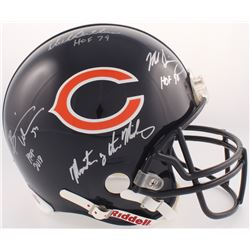 """""""Monsters of the Midway"""" Chicago Bears Full-Size Authentic On-Field Helmet Signed by (3) with Mike S"""