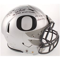 Dan Fouts Signed Game-Used Oregon Ducks Full-Size Authentic On-Field Speed Helmet with Multiple Care
