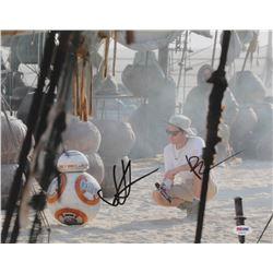 "J. J. Abrams  Bill Hader Signed ""Star Wars: The Force Awakens"" 11x14 Photo (PSA COA)"