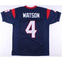 Deshaun Watson Signed Jersey (JSA COA)