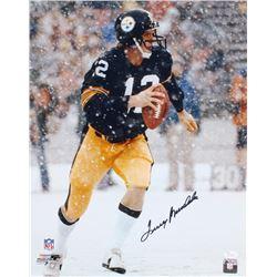 Terry Bradshaw Signed Pittsburgh Steelers 16x20 Photo (JSA COA)