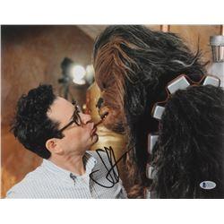 "J. J. Abrams Signed ""Star Wars: The Force Awakens"" 11x14 Photo (Beckett Hologram)"