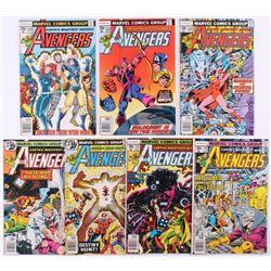 """Lot of (6) 1978 """"The Avengers"""" 1st Series Marvel Comic Books with #171, #172, #173, #174, #175, #176"""