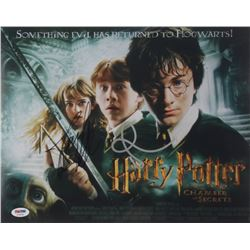 "Daniel Radcliffe  Rupert Grint Signed ""Harry Potter and the Chamber of Secrets"" 11x14 Photo (PSA COA"