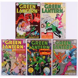"Lot of (5) 1970 ""Green Lantern"" 1st Series DC Comic Books with #39, #41, #42, #43  #46"
