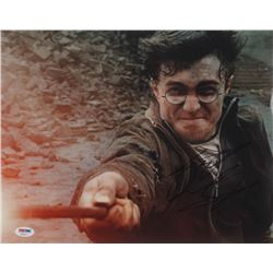 "Daniel Radcliffe Signed ""Harry Potter  the Deathly Hallows: Part 2"" 11x14 Photo (PSA COA)"