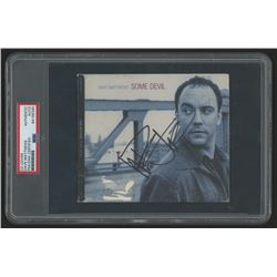 "Dave Matthews Signed ""Some Devil"" CD Cover (PSA Encapsulated)"