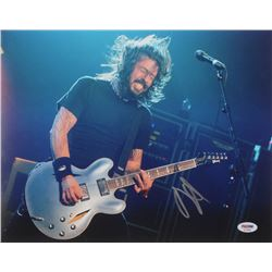 "Dave Grohl Signed ""Foo Fighters"" 11x14 Photo (PSA Hologram)"