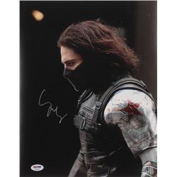 "Sebastian Stan Signed ""Captain America: The Winter Soldier"" 11x14 Photo (PSA COA)"