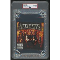 """Chad Gray  Vinnie Paul Signed Hellyeah """"Hellyeah"""" CD Cover (PSA Encapsulated)"""