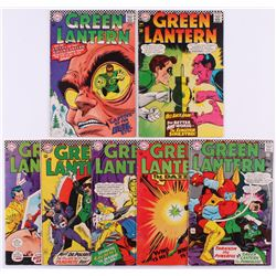 """Lot of (7) 1966-67 """"Green Lantern"""" 1st Series DC Comic Books with #47, #48, #49, #50, #52, #53  #54"""