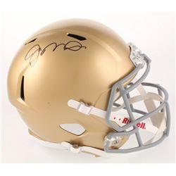 Joe Montana Signed Notre Dame Fighting Irish Full-Size Speed Helmet (Beckett COA)
