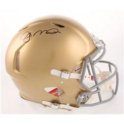 Joe Montana Signed Notre Dame Fighting Irish Full-Size Authentic On-Field Speed Helmet (Beckett COA)