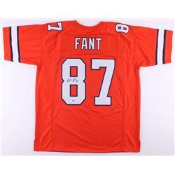 Noah Fant Signed Jersey (Beckett COA)