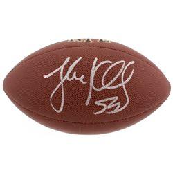 Luke Kuechly Signed NFL Football (Beckett COA)