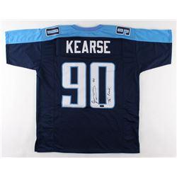 "Jevon Kearse Signed Jersey Inscribed ""The Freak!"" (Radtke COA)"