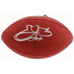 """Emmitt Smith Signed """"The Duke"""" Official NFL Game Football (PSA COA)"""
