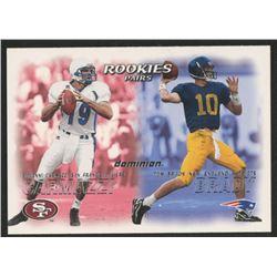 2000 SkyBox Dominion #234 Tom Brady RC / Giovanni Carmazzi RC