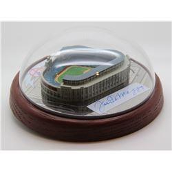 Joe DiMaggio Signed Hawthorne Yankees Stadium Figurine (JSA ALOA)
