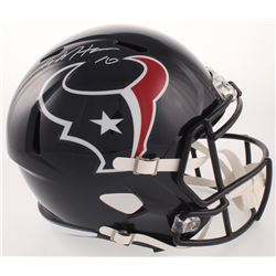 DeAndre Hopkins Signed Houston Texans Full-Size Speed Helmet (JSA COA)