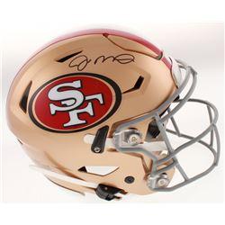 Joe Montana Signed San Francisco 49ers Full-Size Authentic On-Field SpeedFlex Helmet (Beckett COA)