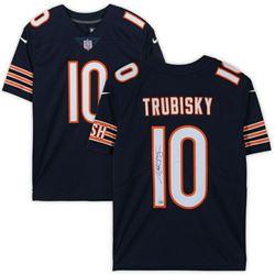 Mitchell Trubisky Signed Chicago Bears Jersey (Fanatics Hologram)