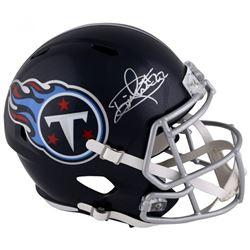 Derrick Henry Signed Tennessee Titans Full-Size Speed Helmet (Fanatics Hologram)