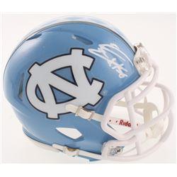 Eric Ebron Signed North Carolina Tar Heels Speed Mini-Helmet (Radtke COA)