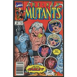 "1990 ""The New Mutants"" #87 Marvel Comic Book"