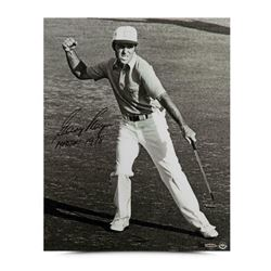 """Gary Player Signed 16x20 LE Photo Inscribed """"1978 Masters"""" (UDA COA)"""