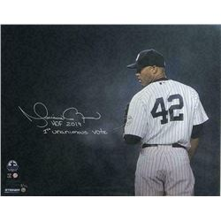 "Mariano Rivera Signed New York Yankees 16x20 LE Photo Inscribed ""HOF 2019""  ""1st Unanimous Vote"" (St"
