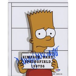 "Nancy Cartwright Signed ""The Simpsons"" 8x10 Photo (PSA COA)"