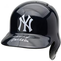 Gio Urshela Signed New York Yankees Full-Size Batting Helmet (Fanatics Hologram)