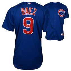 Javier Baez Signed Chicago Cubs Jersey (Fanatics Hologram  MLB Hologram)