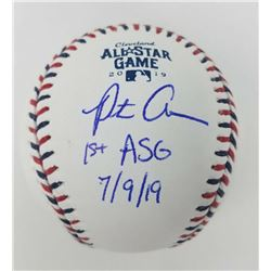 """Pete Alonso Signed 2019 All-Star Game Baseball Inscribed """"1st ASG 7/9/19"""" (Fanatics Hologram  MLB Ho"""