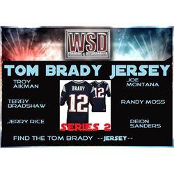 WSD Football Jersey Mystery Box - Series 2 (Find the Tom Brady Jersey!)