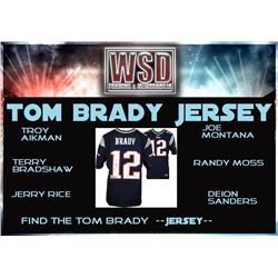 WSD Football Jersey Mystery Box - Series 1 (Find the Tom Brady Jersey!)