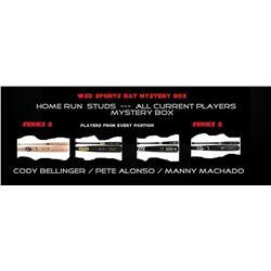 "WSD ""Home Run Studs"" Autographed Baseball Bat Mystery Box Series - 2"