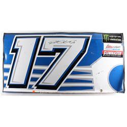 Ricky Stenhouse Jr. Signed Race-Used Fastenal #17 Full Door Sheet Metal (PA COA)