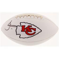 Tyreek Hill Signed Kansas City Chiefs Logo Football (JSA COA)