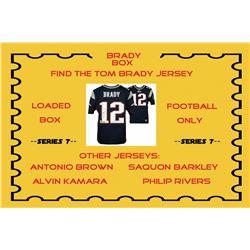 """Brady Box"" Loaded Mystery Box - Football Jersey Series 7 (Find the Tom Brady Jersey!)"
