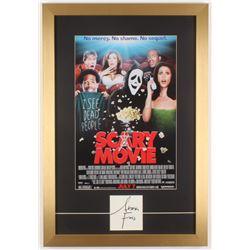 "Anna Faris Signed ""Scary Movie"" 16x23.5 Custom Framed Cut Display (Beckett COA)"