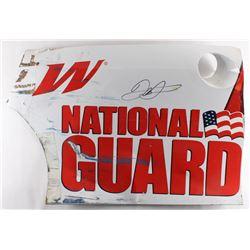 Dale Earnhardt Jr. Signed Race-Used National Guard #88 Quarter Panel Sheet Metal (PA COA)