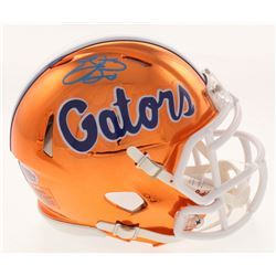 Emmitt Smith Signed Florida Gators Chrome Speed Mini Helmet (Beckett COA  Prova Hologram)