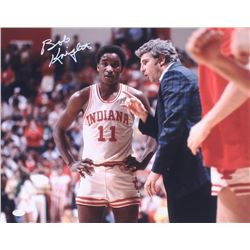 Bob Knight Signed Indiana Hoosiers 16x20 Photo (JSA COA)