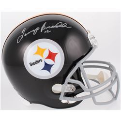 Terry Bradshaw Signed Pittsburgh Steelers Full-Size Helmet (JSA COA)