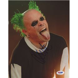 Keith Flint Signed 8x10 Photo (PSA COA)